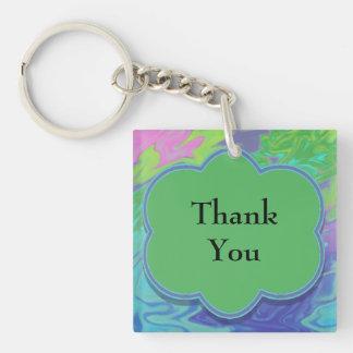För blåttgrönt för tack färgrik abstrakt