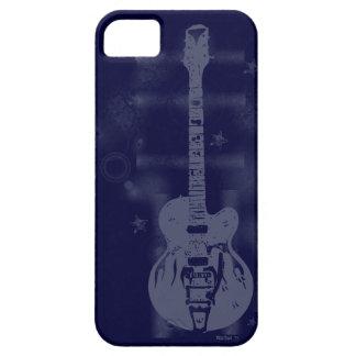 För blåttiPhone 5 för gitarr grafiskt fodral iPhone 5 Cover