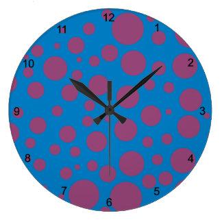 för blåttmånen för purpurfärgad passion pricker yr stor klocka