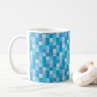 För blåttPixelated för Gamer | PIXEL för blått Kaffemugg
