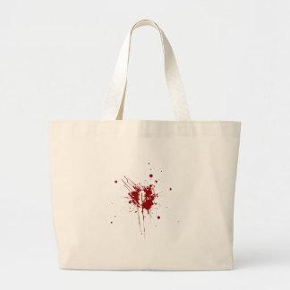 För blodtypdonation för nolla negativ Zombie för v Tote Bag