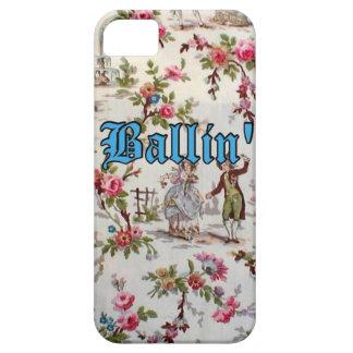 För blom- Gangsta för vintage fodral för iPhone iPhone 5 Cover