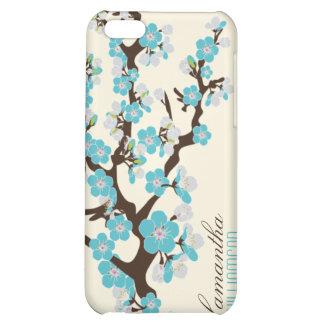 för blommarSpeck för iPhone 4 körsbärsrött fodral  iPhone 5C Skal