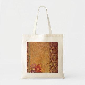 För blommigtpapper för Retro vintage dekorativ Budget Tygkasse