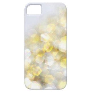 För Bokeh för vit guld- fodral för iPhone 5s för iPhone 5 Skydd