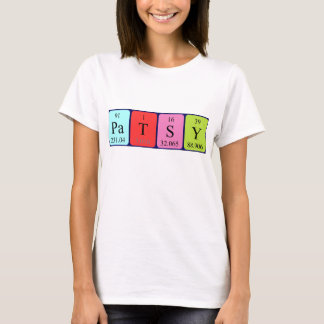 För bordnamn för Patsy periodisk skjorta Tröja
