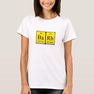 För bordnamn för tagg periodisk skjorta t shirts