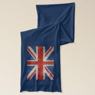 För brittisk facklig scarf för stil jackflagga för halsduk