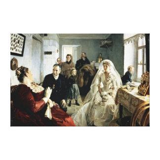 För bröllop 1880s canvastryck