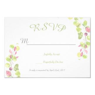 För bröllop OSAsvar för vår blom- kort 8,9 X 12,7 Cm Inbjudningskort