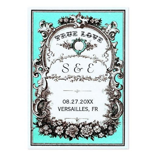 För bröllopställe för vintage trädgårds- kort visitkort mallar
