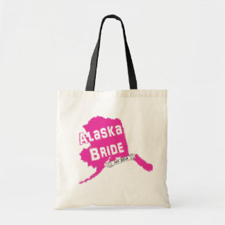 För brudkarta för 2014 AK toto i rosor Tote Bags