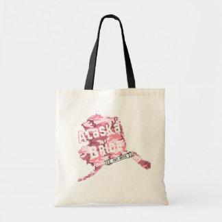 För brudkarta för 2015 AK toto i rosa Camo Tote Bag