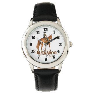 För Buckaroo tema för Cowboy lite westernt för Armbandsur