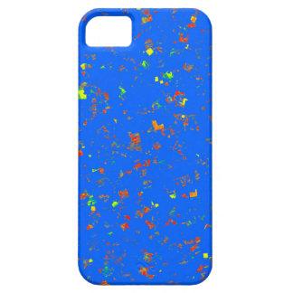 För bukettblått för blomma blom- struktur för iPhone 5 fodral
