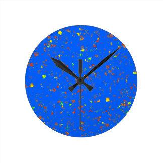 För bukettblått för blomma blom- struktur för rund klocka