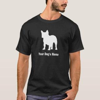 För bulldoggフレンチ för personlig fransk ブルドッグ för ・ tee shirt