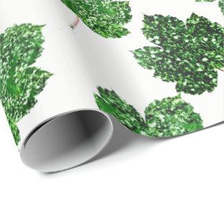 För Cali för lönn tropiskt trä för vit för natur Presentpapper