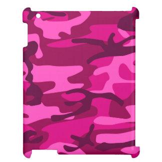 För Camo för shock rosa Fuchsia mönster kamouflage iPad Fodral