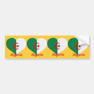 för carosseriebil för 4 klistermärkear algerie alg bildekal