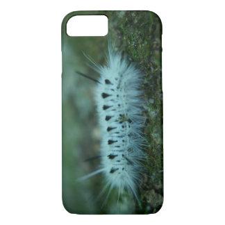 För Caterpillar för vit luddigt fodral iPhone 7