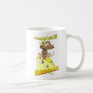 För Club© för Pittsburgh råttaälskare råtta för Kaffemugg
