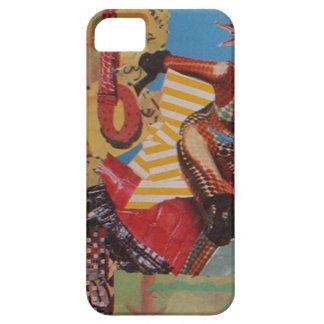 För CollageiPhone 5/5S för Sombreros enigt fodral iPhone 5 Case-Mate Skydd