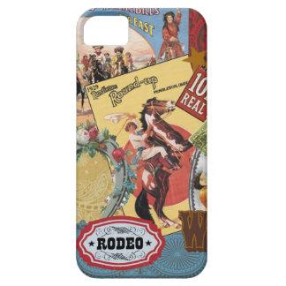 för collageiphone 5 för vintage westernt fodral iPhone 5 cases