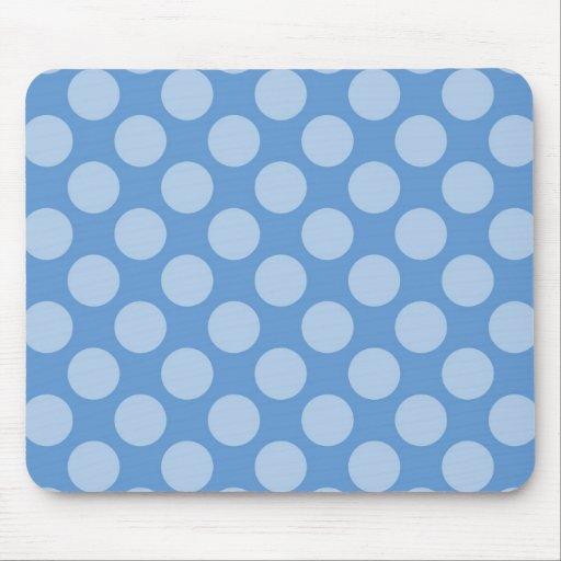 För coola för blåttpolka dots flickaktigt mönster  mus matta
