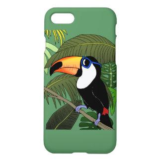 För coolt toucan iPhone 7 skal