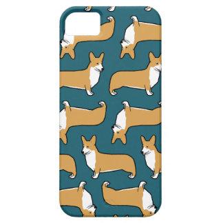 För Corgihundar för Pembroke walesiskt mönster iPhone 5 Hud
