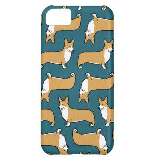 För Corgihundar för Pembroke walesiskt mönster iPhone 5C Fodral