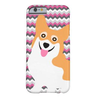 För Corgivalp för gullig Pembroke walesisk sparre Barely There iPhone 6 Skal