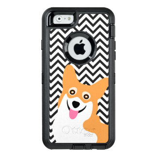 För Corgivalp för lycklig Pembroke walesisk sparre OtterBox Defender iPhone Skal