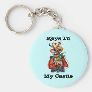 ~ för cowboyen för Keychain ~ skräddarsy färgrik p Rund Nyckelring