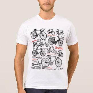 För cykelkatalog för vintage fransk design för ann tröjor