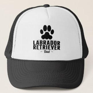 För DadThis Labrador för Labrador Retriever pappa Truckerkeps