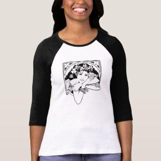För dagflicka för St. Patricks svartvit T-tröja Tröjor