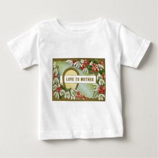 För daisyvit för guld- hästsko rosa lilja t-shirt