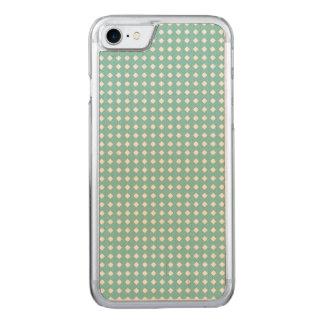 För dammig kricka gulliga för mönster diamanter carved iPhone 7 skal