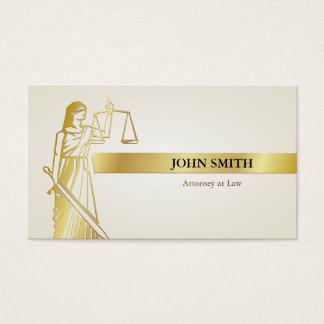 För damrättvisa för Faux guld- advokat för Visitkort