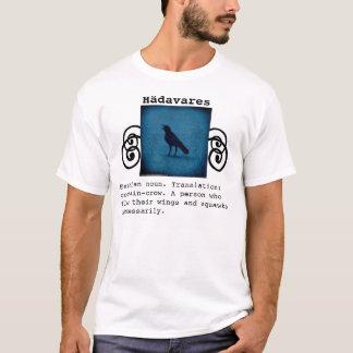 För definitionutslagsplats för rolig kråka t shirts