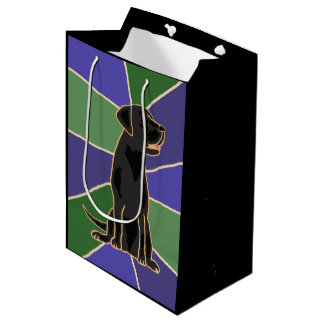 För den Labrador för roligt hänger lös den svart