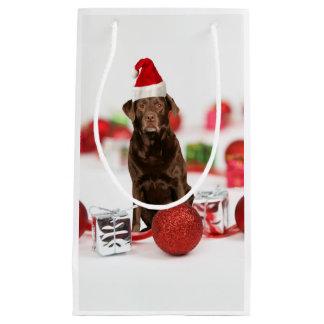 För den Santa för gåvor för w för Labrador hundjul
