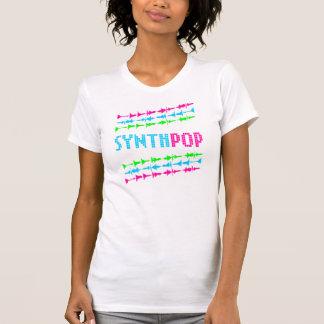 För den Synth för neon för den Corey tiger80-tal v T-shirt