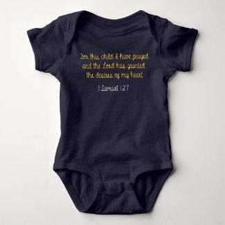 För detta barn har jag bett, 1 Samuel bibel Tee Shirt