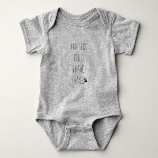 För detta barn har jag bett bodysuiten t-shirt