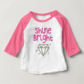 För diamantflicka för sken ljus skjorta tee