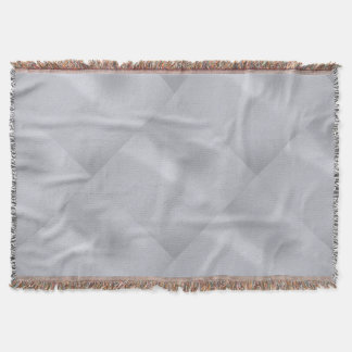 För diamantmönster för silver subtil filt för kast