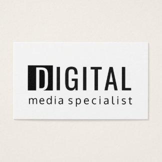 För Digital för DJÄRV teknologi specialist social Visitkort
